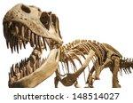 Tyrannosaurus Skeleton Over...