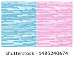 cute abstract irregular stripes ... | Shutterstock .eps vector #1485240674