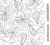 vector seamless pattern with ...   Shutterstock .eps vector #1485300854