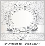 vintage seamless wallpaper with ... | Shutterstock .eps vector #148533644