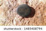 Black Stone Word Dream Rock