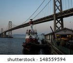 san francisco  ca   may 5  fire ... | Shutterstock . vector #148559594