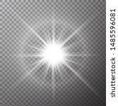 Glow Effect Stars Bursts On...