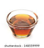 maple syrup in a bowl on white...   Shutterstock . vector #148559999