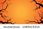 Halloween Background With A...