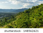 natural landscape on the... | Shutterstock . vector #148562621