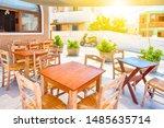 beautiful sunny summer... | Shutterstock . vector #1485635714