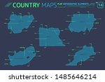 nigeria  egypt  sudan  morocco... | Shutterstock .eps vector #1485646214