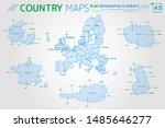 european union  denmark  france ... | Shutterstock .eps vector #1485646277