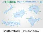 new zealand  australia ... | Shutterstock .eps vector #1485646367