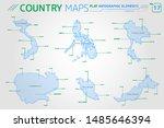 vietnam  malaysia  philippines  ... | Shutterstock .eps vector #1485646394