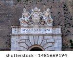 vatican city  rome  italy  ...   Shutterstock . vector #1485669194