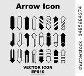 arrow icon. big set of vector...