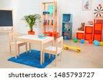 interior of modern children's...   Shutterstock . vector #1485793727