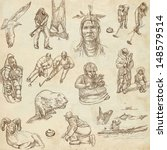 traveling series  canada  paper ... | Shutterstock . vector #148579514