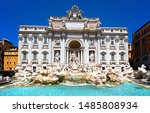 The Trevi Fountain In Rome ...
