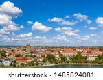 View of Prenzlau. The City is a town in Brandenburg, Germany, the administrative seat of Uckermark District
