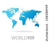 world map vector illustration | Shutterstock .eps vector #148588949