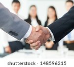 business handshake | Shutterstock . vector #148596215