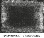 distressed overlay texture of... | Shutterstock .eps vector #1485989387