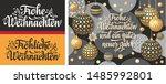german christmas. weihnachten.... | Shutterstock .eps vector #1485992801