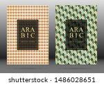 moroccan pattern vector cover... | Shutterstock .eps vector #1486028651