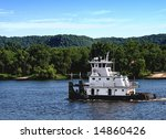 Towboat On The Mississippi...