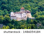 Vaduz Castle In Liechtenstein....