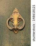 Antique Door Knocker  Italy