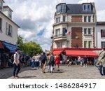 Montmartre  Paris   France 08....