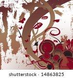 grunge vector background | Shutterstock .eps vector #14863825