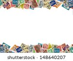 postage stamps from many... | Shutterstock . vector #148640207