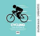 Cycling Graphic Symbol.