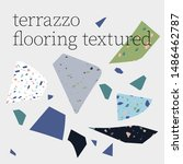 terrazzo flooring textured... | Shutterstock .eps vector #1486462787