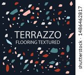 terrazzo flooring textured... | Shutterstock .eps vector #1486462817
