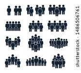 people group icon. business... | Shutterstock .eps vector #1486506761