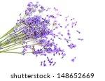 Bunch Of Fresh Lavender Flower...