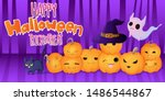 vector banner with hand draw... | Shutterstock .eps vector #1486544867