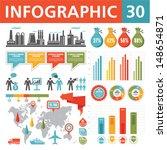 infographics design elements 30....   Shutterstock .eps vector #148654871
