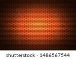 illuminated texture of the... | Shutterstock .eps vector #1486567544
