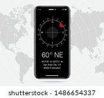 compass ui  ux  gui screen apps ...
