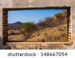 mexican desert town  baja... | Shutterstock . vector #148667054