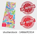 safeguard saskatchewan province ... | Shutterstock .eps vector #1486692314