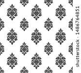 thaiart vector pattern design...   Shutterstock .eps vector #1486764851
