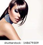 fashion beauty girl. gorgeous... | Shutterstock . vector #148679309