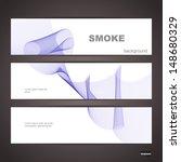 smoke abstract  banner | Shutterstock .eps vector #148680329