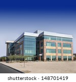 large modern office building | Shutterstock . vector #148701419