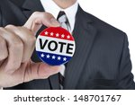 a politician is promoting the... | Shutterstock . vector #148701767