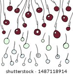lots of circles and lines. some ... | Shutterstock .eps vector #1487118914