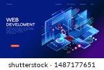 programming web banner. best...   Shutterstock .eps vector #1487177651